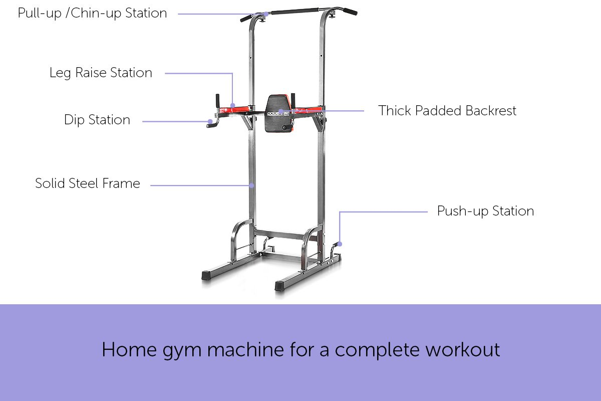 powertrain multi station home gym instructions