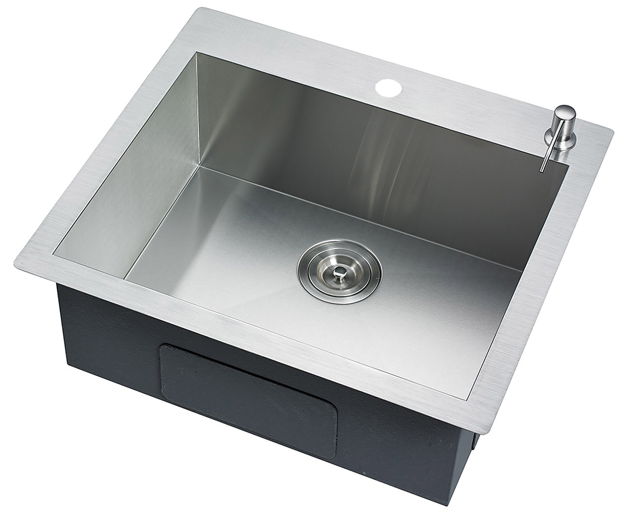304 Stainless Steel Undermount Topmount Kitchen Laundry Sink - 530 x 500mm - $152.3