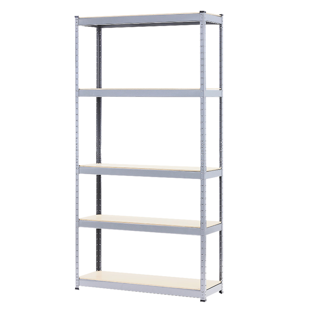 5 Shelf Storage Rack - Galvanized Steel 180x90cm - $199.9