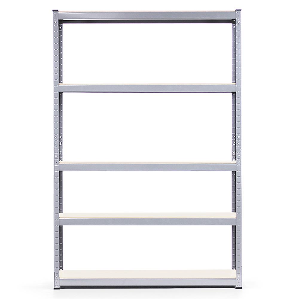 5 Shelf Storage Rack Galvanized Steel - 180x120cm