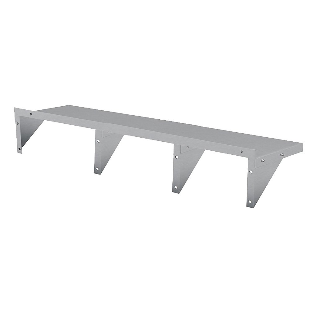 2134x356mm Stainless Wall Mounted Shelf - $289.5