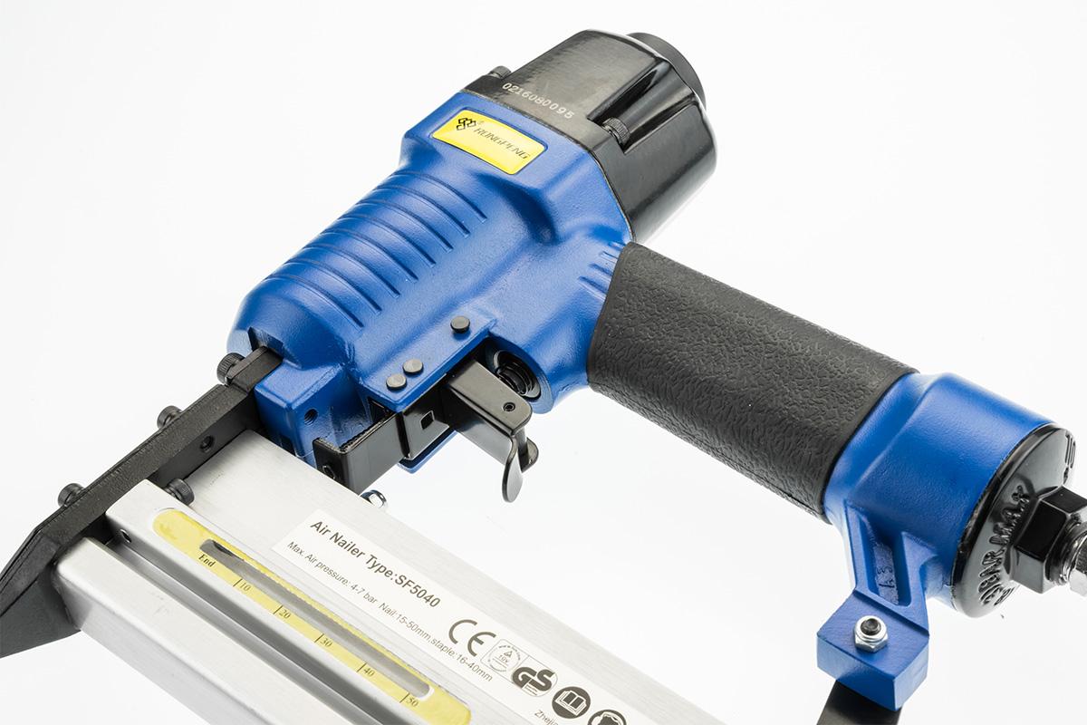 Brad Nail Stapler Combo Nailer Air Tool Gun - $56.3