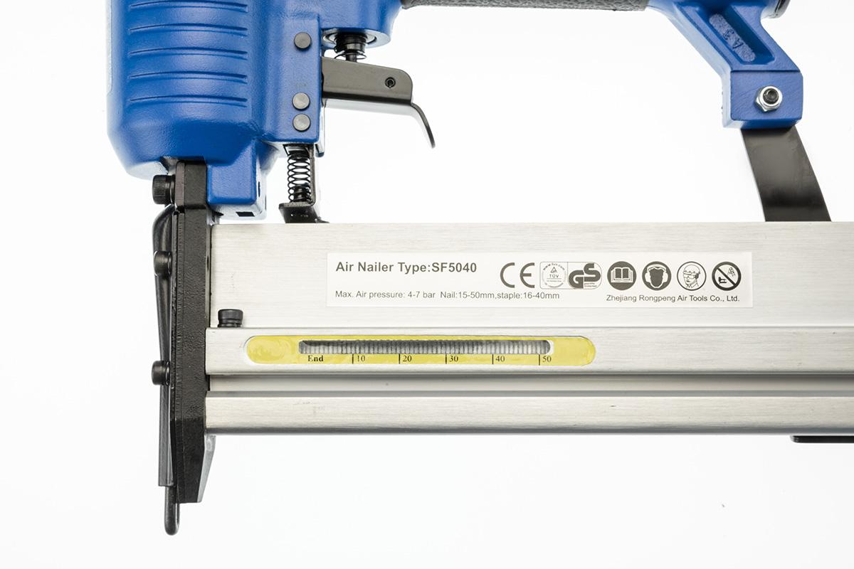 Brad Nail Stapler Combo Nailer Air Tool Gun