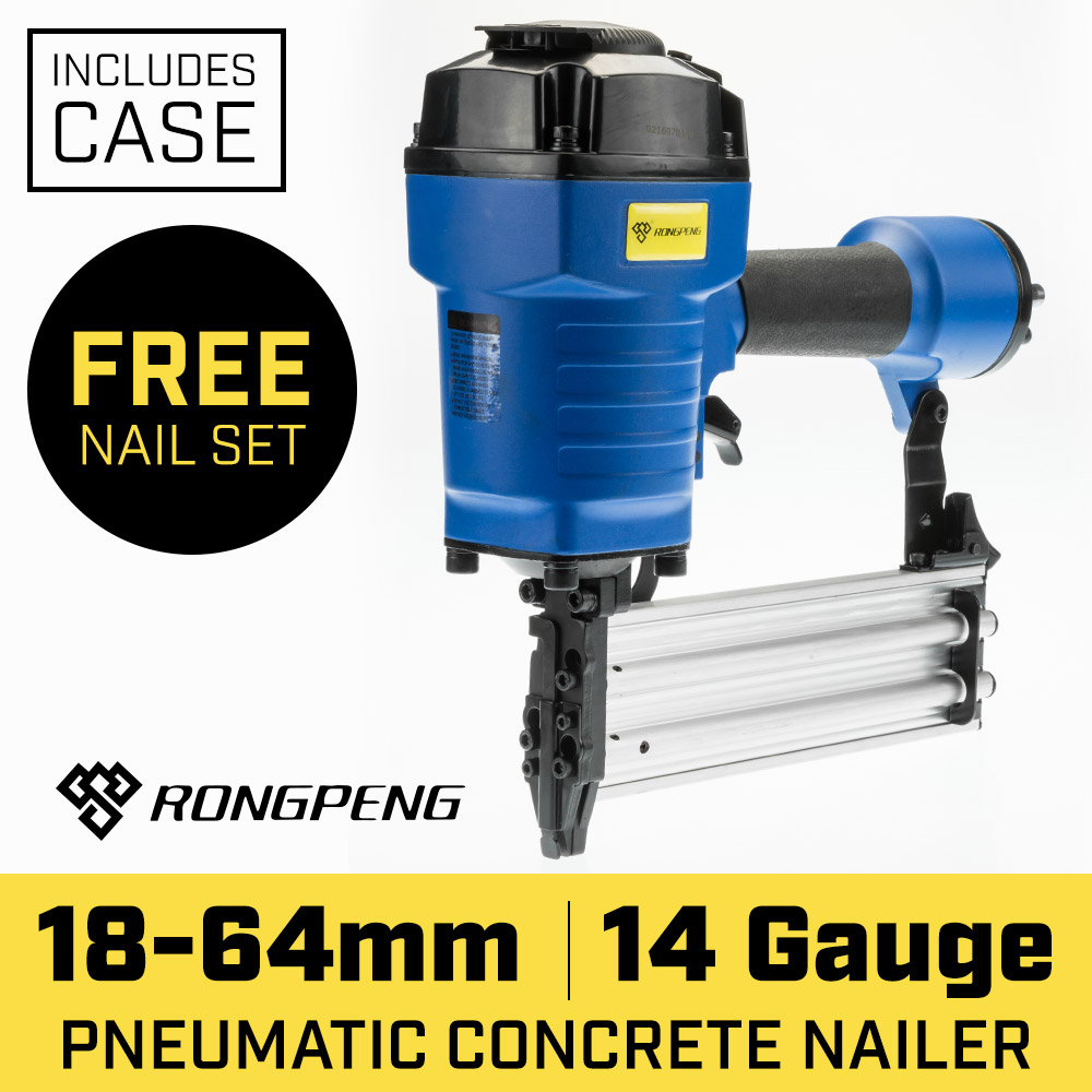 14 Gauge Nailer Wood to Concrete Finish Air Nail Gun
