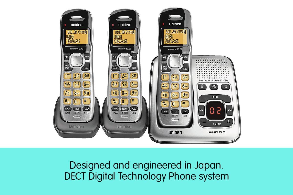 uniden dect 6.0 digital answering machine manual
