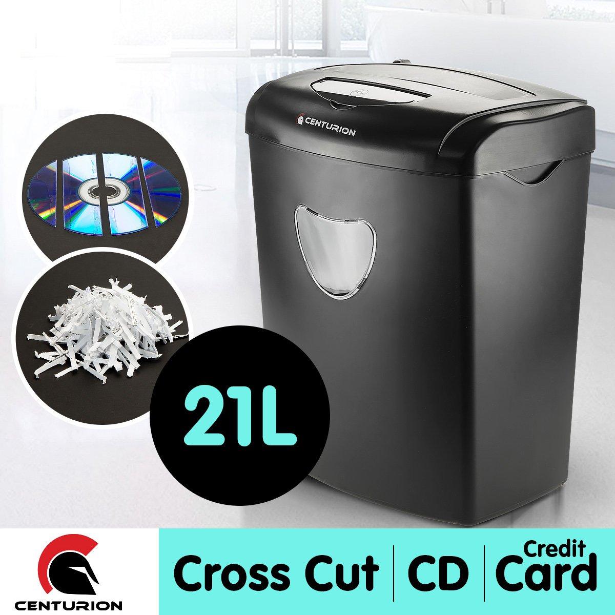 Centurion 21L 10 Sheets Paper Shredder