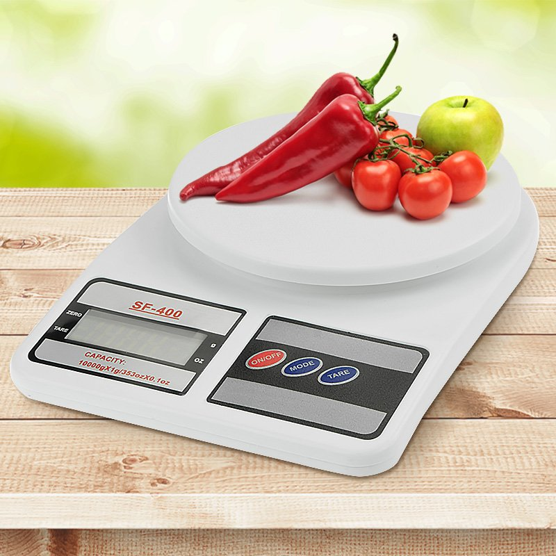 Digital Kitchen Scales 10kg / 1gm Electronic Food Scale