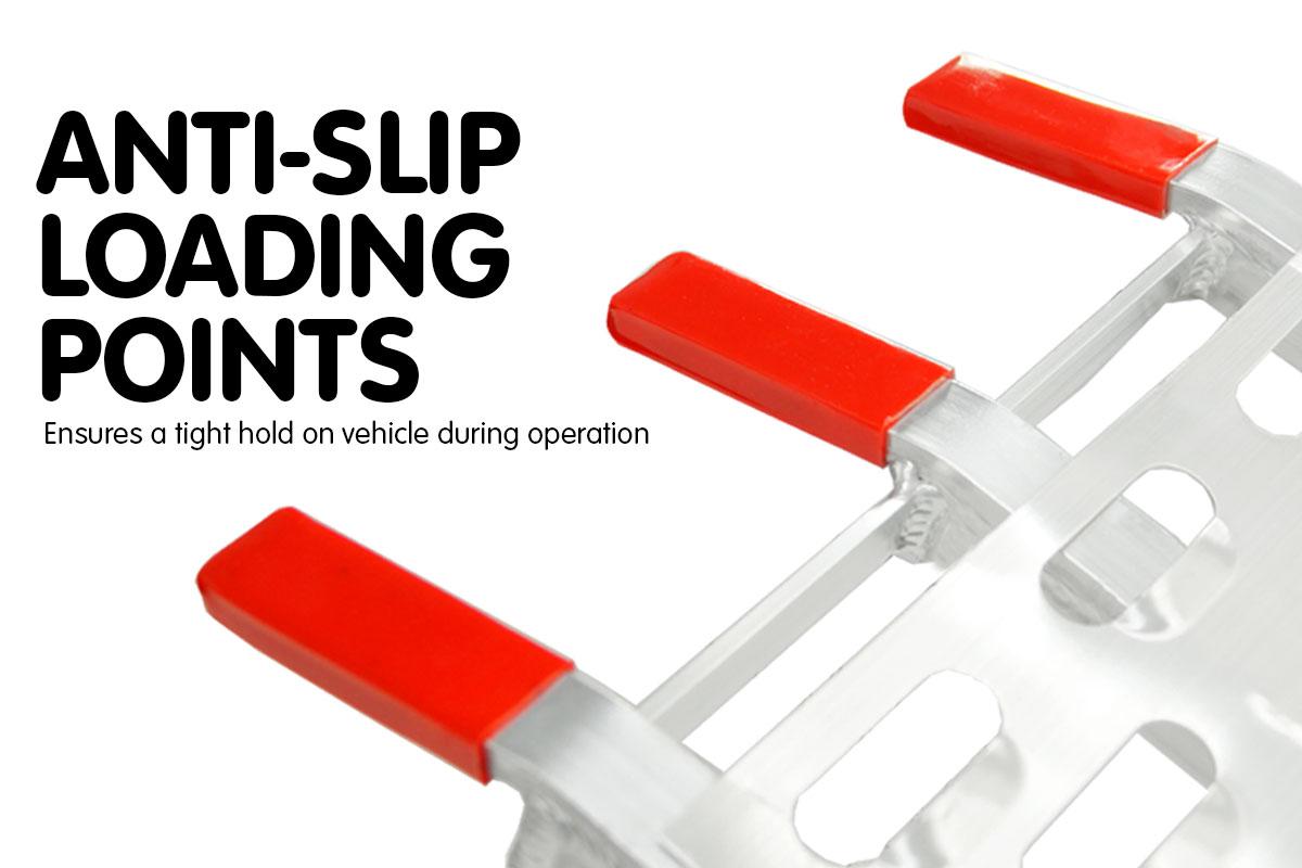 2x Aluminium Folding Loading Ramps ATV Motorbike