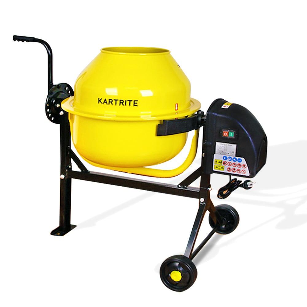 Kartrite Cement Concrete Mixer 63L Sand Gravel Portable 220W - $379.1
