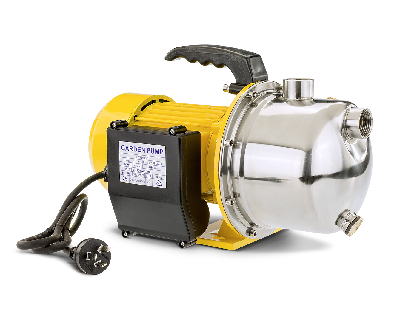 HydroActive 1600W RAIN WATER TANK ELECTRIC PUMP