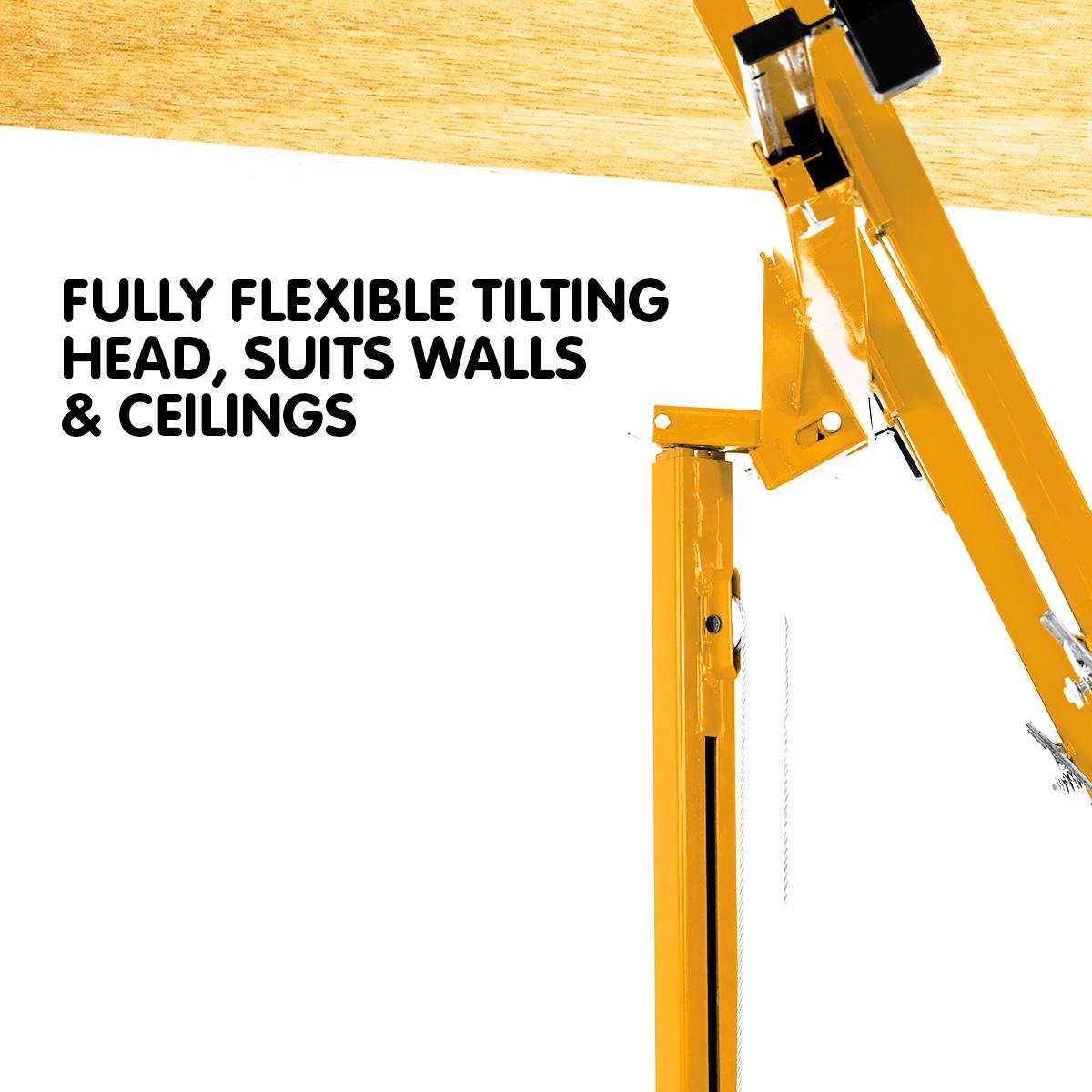 Kartrite 16ft Plaster Drywall Board Sheet Panel Hoist Lifter