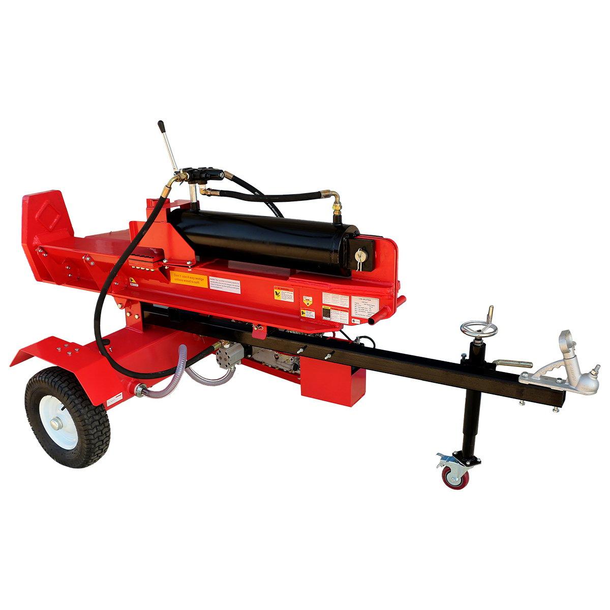 75 Ton Yukon Diesel Log Splitter Wood Cutter Axe Block