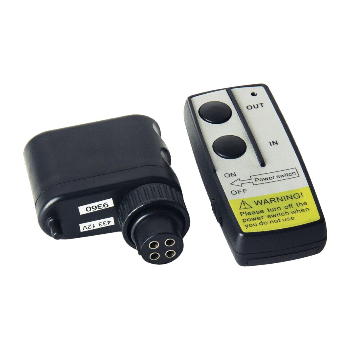 Heavy duty long range model wireless control system for winch