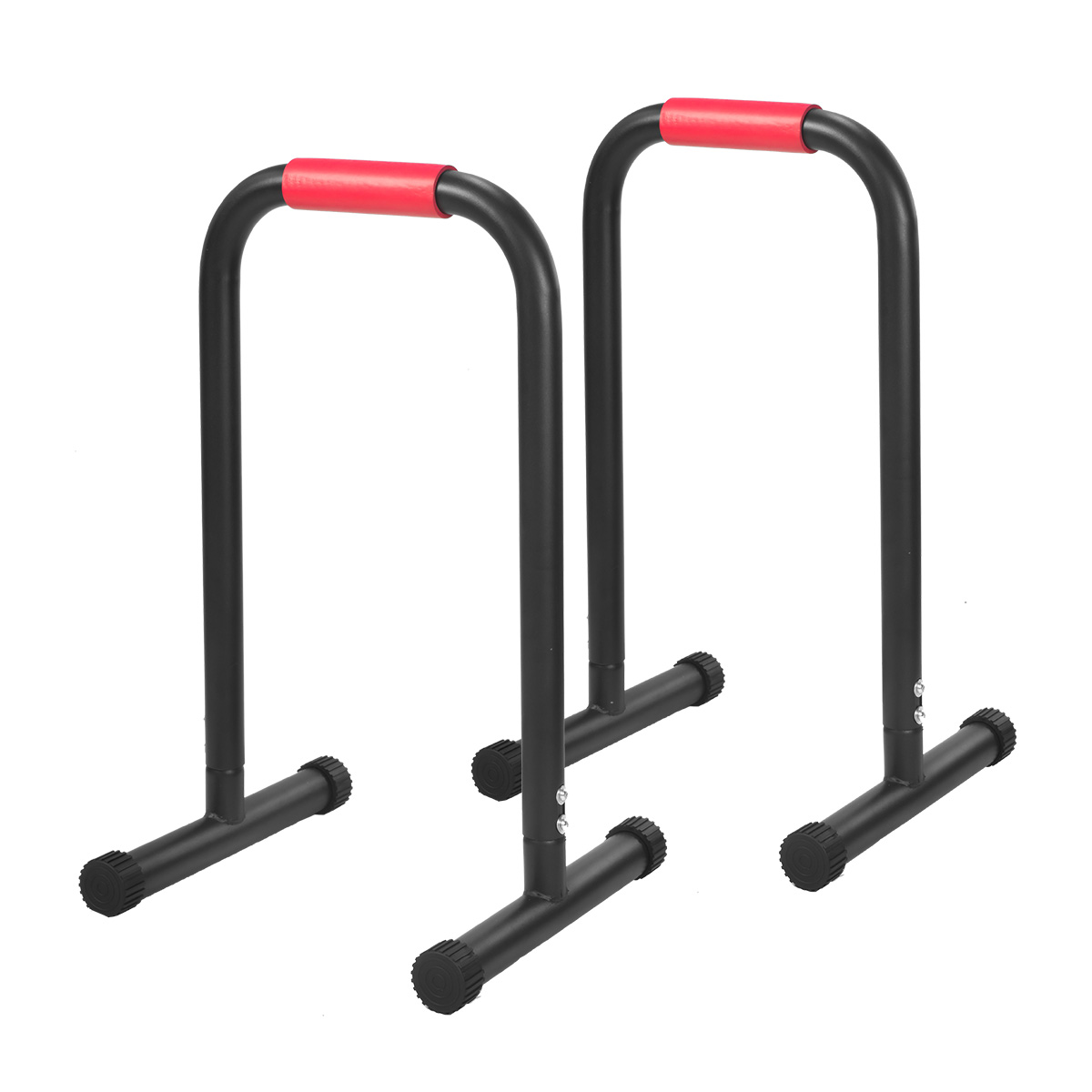 Powertrain Pair Dip Bar Parallette Stand Workout Exercise Gym Station