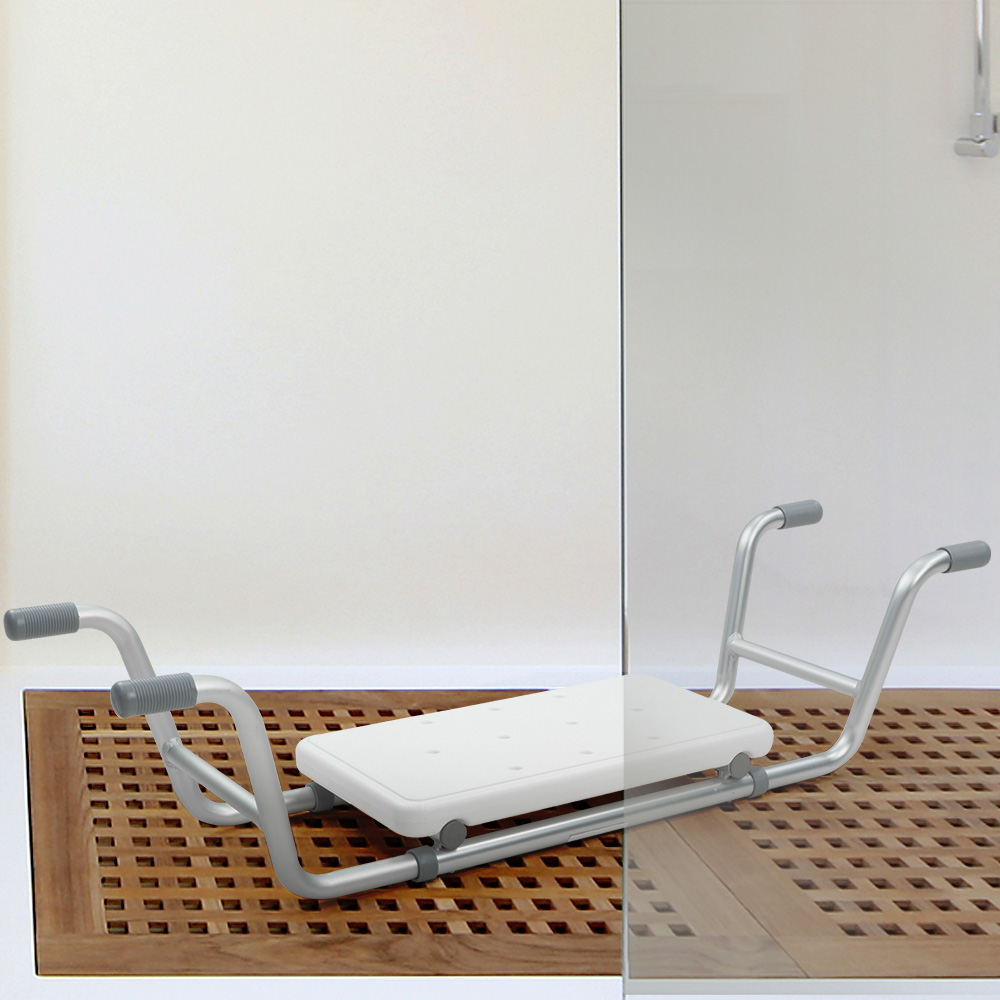 Orthonica Medical Adjustable Shower Tub Seat Bench Aid