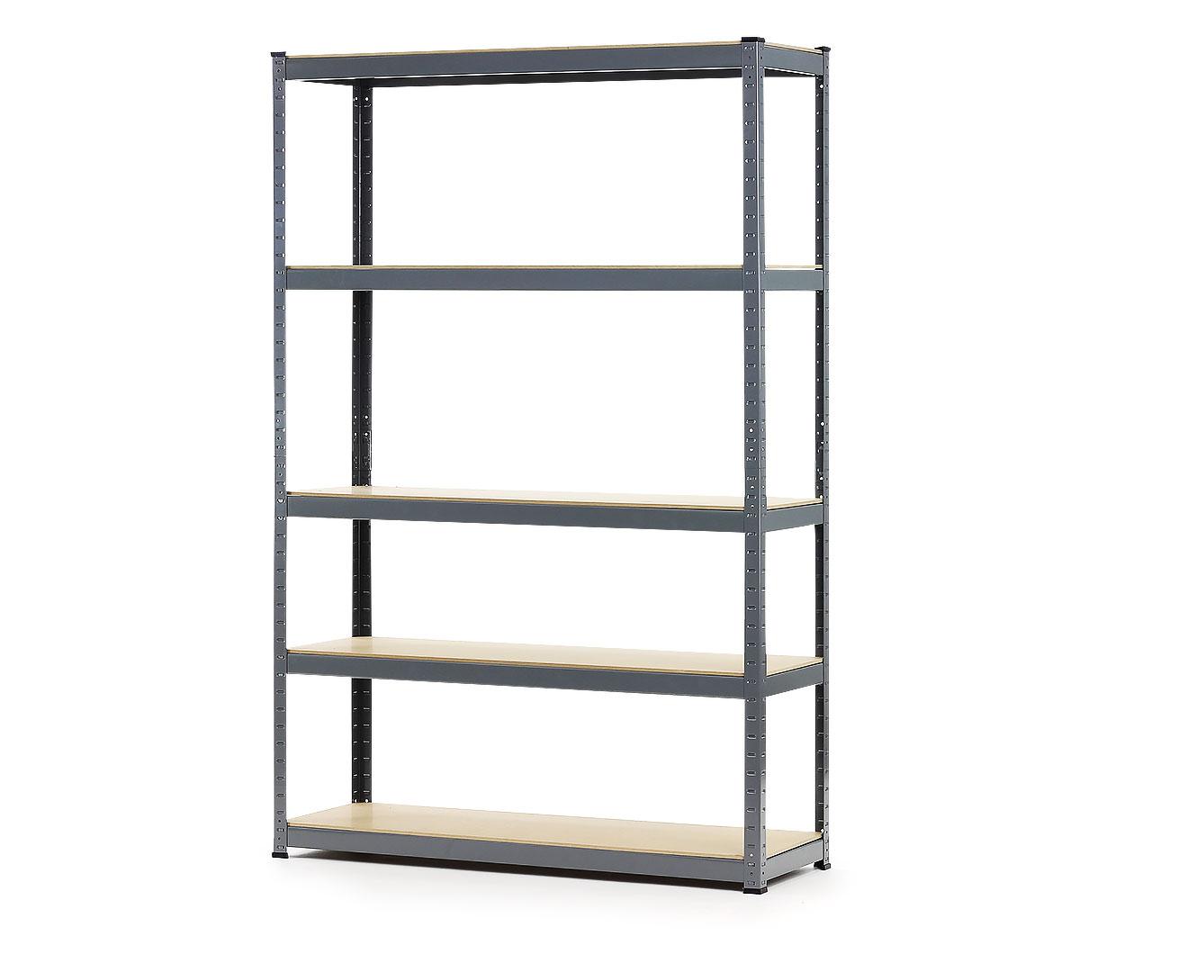 Heavy Duty 5 Shelf Storage Unit - 180 x 120 x 40cm