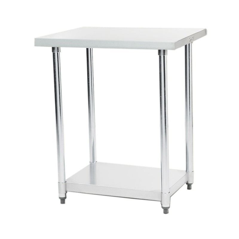 304 Stainless Steel Prep Kitchen Work Bench 610 x 610mm - $172.8