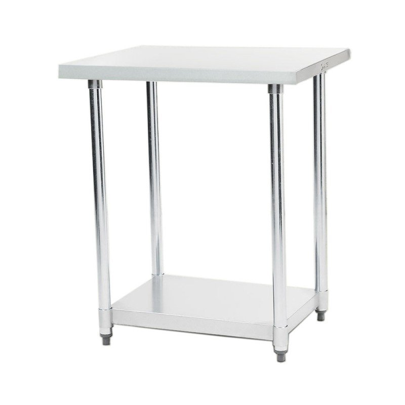 304 Stainless Steel Prep Kitchen Work Bench 610 x 610mm