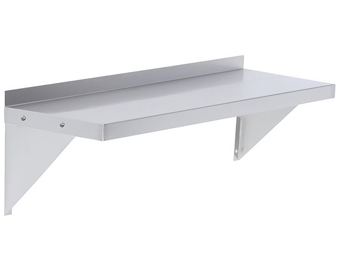 610x356mm Stainless Wall Mounted Shelf - $206.3