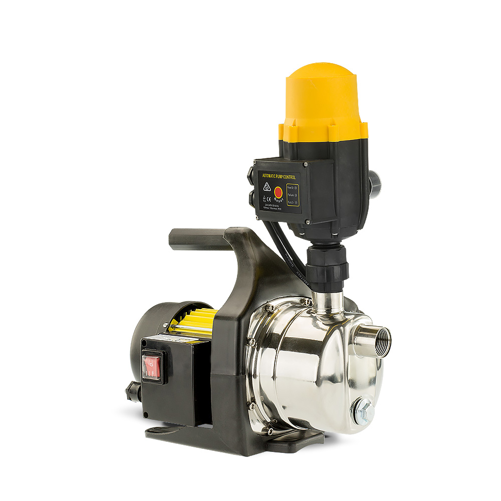 1400w Automatic stainless electric water pump - Yellow - $165.1
