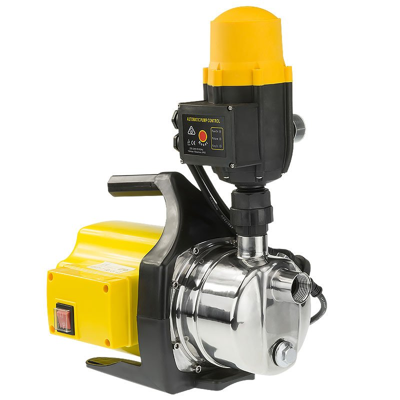 Hydro Active 800w Weatherised stainless auto water pump - Yellow - $177.9