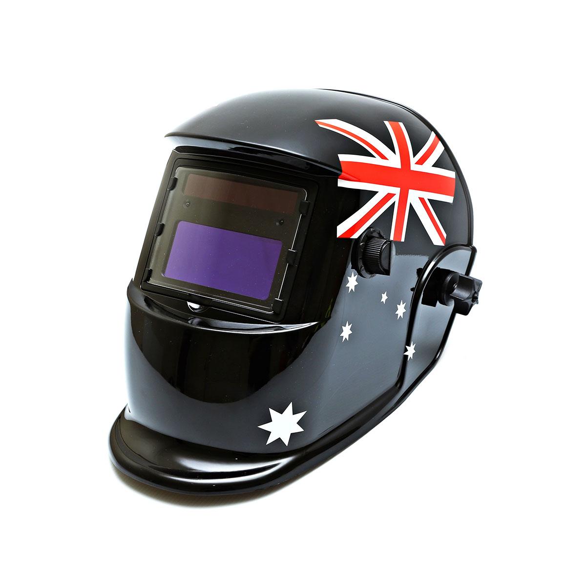 Centurion Solar Auto Darkening Welding Helmet - Australian Flag