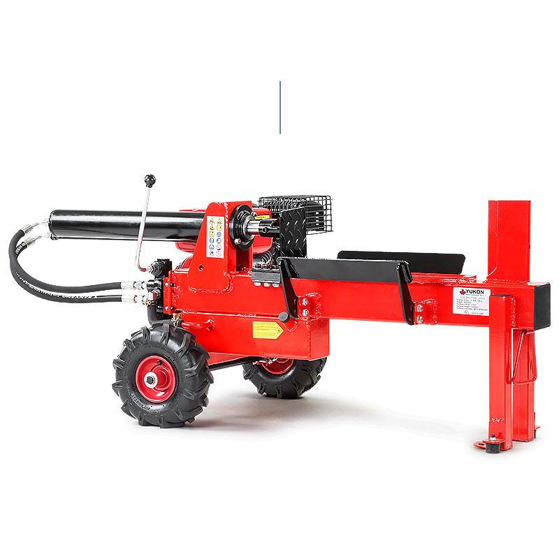 Yukon Petrol Log Splitter Wood Cutter 15 Ton