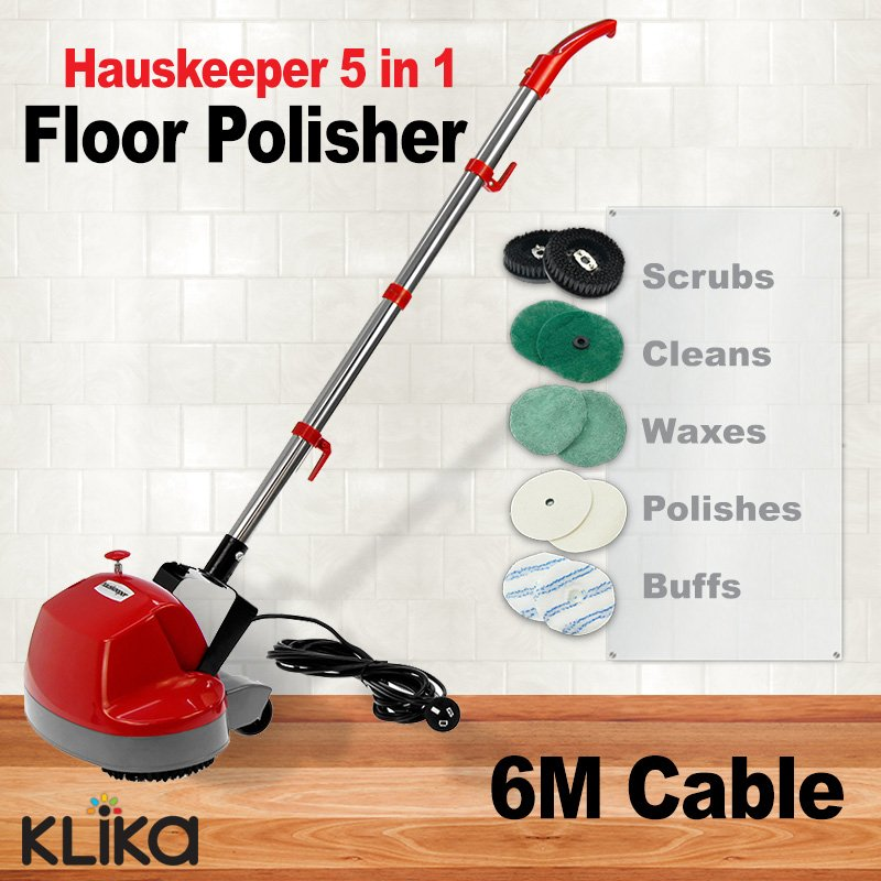 Floor tile polisher buffer
