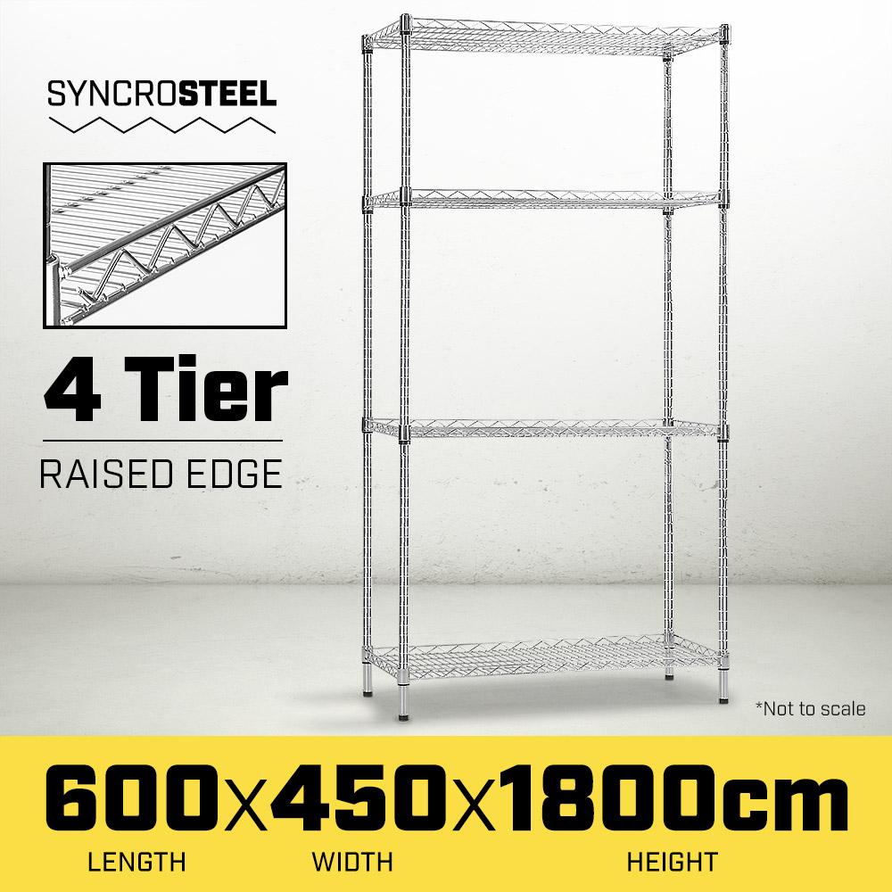 Wire Shelf 600 x 450 - 1.8m high