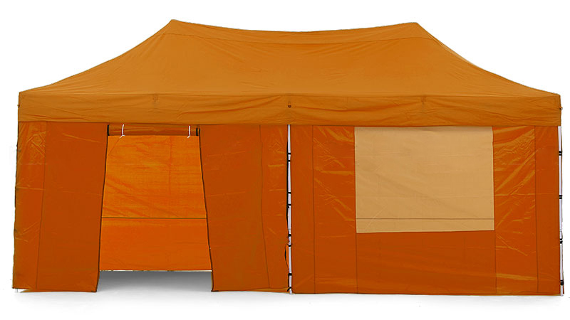 Gazebo Tent Marquee 3x6m PopUp Outdoor Wallaroo Orange