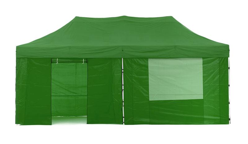 Gazebo Tent Marquee 3x6m PopUp Outdoor Wallaroo Green