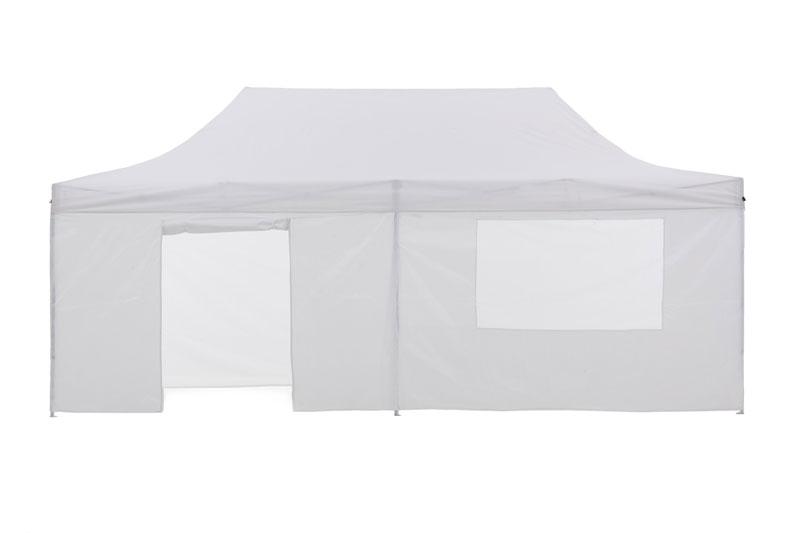 Gazebo Tent Marquee 3x6m PopUp Outdoor Wallaroo White