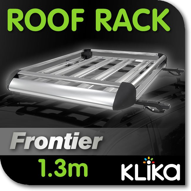 NEW-1-3m-CAR-4WD-ROOF-RACK-LUGGAGE-CAGE-BASKET-CARGO-CARRIER-BOX-ALUMINIUM-bl