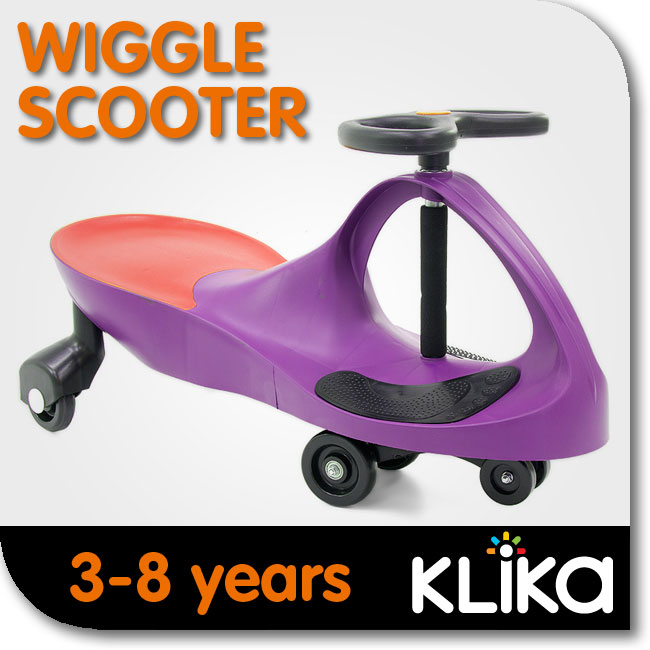 KIDS-RIDE-ON-TOY-CAR-WIGGLE-SWING-SCOOTER-PURPLE-GREAT-CHILDRENS-GIFT