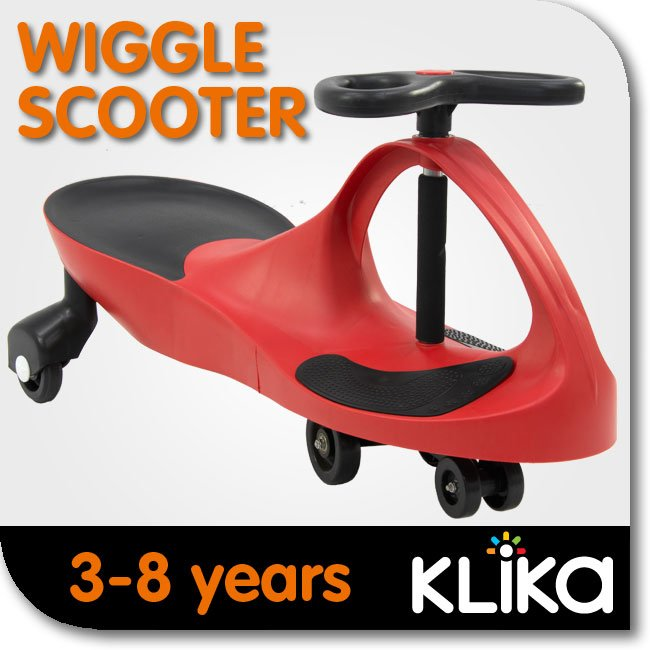 KIDS-RIDE-ON-TOY-CAR-WIGGLE-SWING-SCOOTER-RED-GREAT-CHILDRENS-GIFT