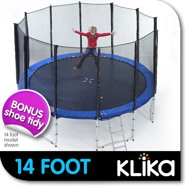 14ft-12-POST-ROUND-OUTDOOR-TRAMPOLINE-WITH-ENCLOSURE-OUTER-SAFETY-NET-PADDING