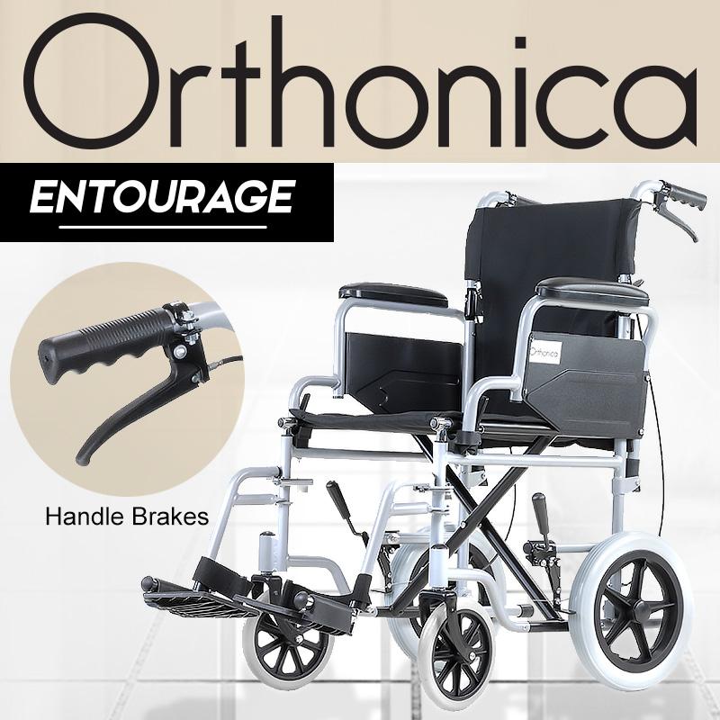 Orthonica Folding Wheelchair - Entourage