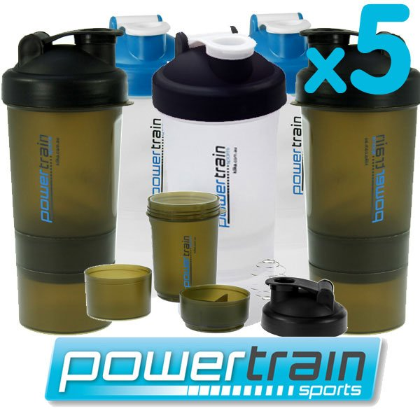 Protein Shaker Dw Sports: 5x PROTEIN SUPPLEMENT DRINK BOTTLE SPORTS MIXER SHAKER
