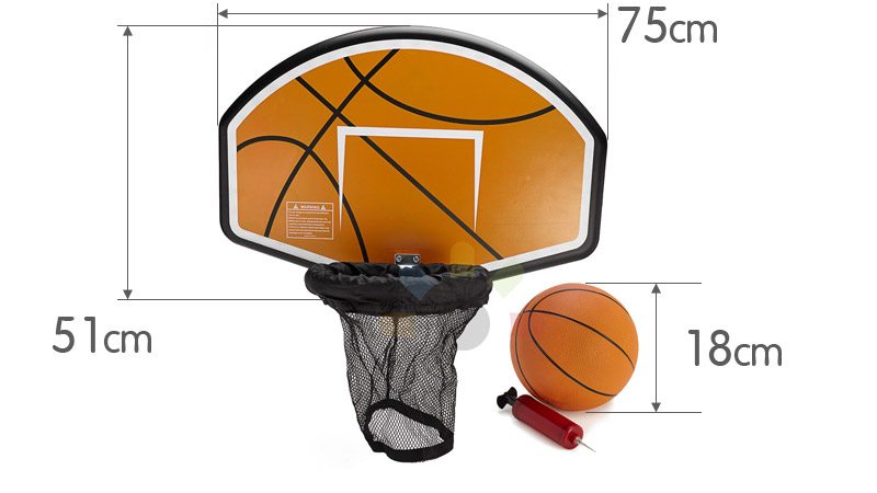 PINK-14ft-12-POST-ROUND-OUTDOOR-TRAMPOLINE-ENCLOSURE-SAFETY-NET-PAD-BASKETBALL