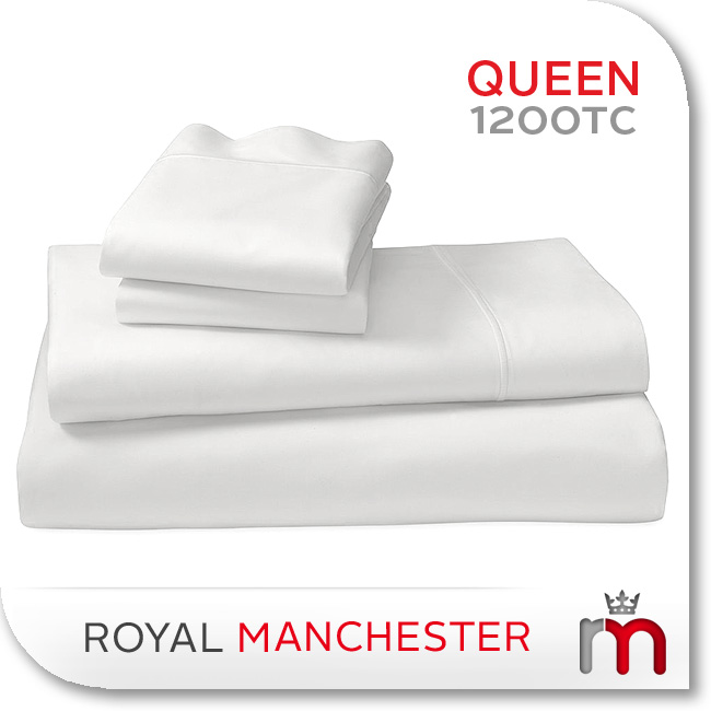 1200TC-EGYPTIAN-COTTON-QUEEN-SIZE-BED-SHEET-SET-WHITE